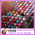Round Self Adhesive Rhinestone Bling Sticker