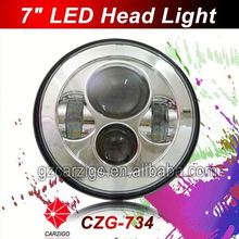 low moq wholesale price off-road 7 inch LED head light for motor