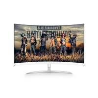Professional curved FHD 1080P Gaming 27 inch pc gaming tv monitor