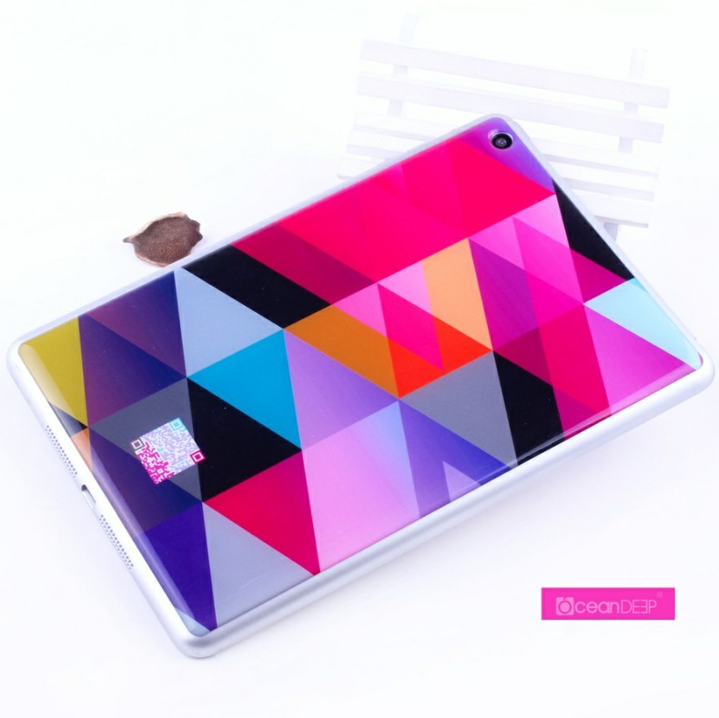 Customp printing design gel sticker for apple ipad mini 32gb 9.7 inch sticker