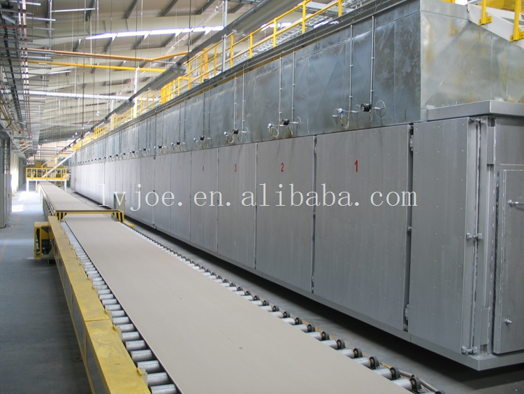 Paper Faced Gypsum Board Production Line with More Than 16 Years Experience