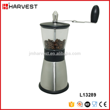 Top quality cheap stainless steel burr coffee grinder