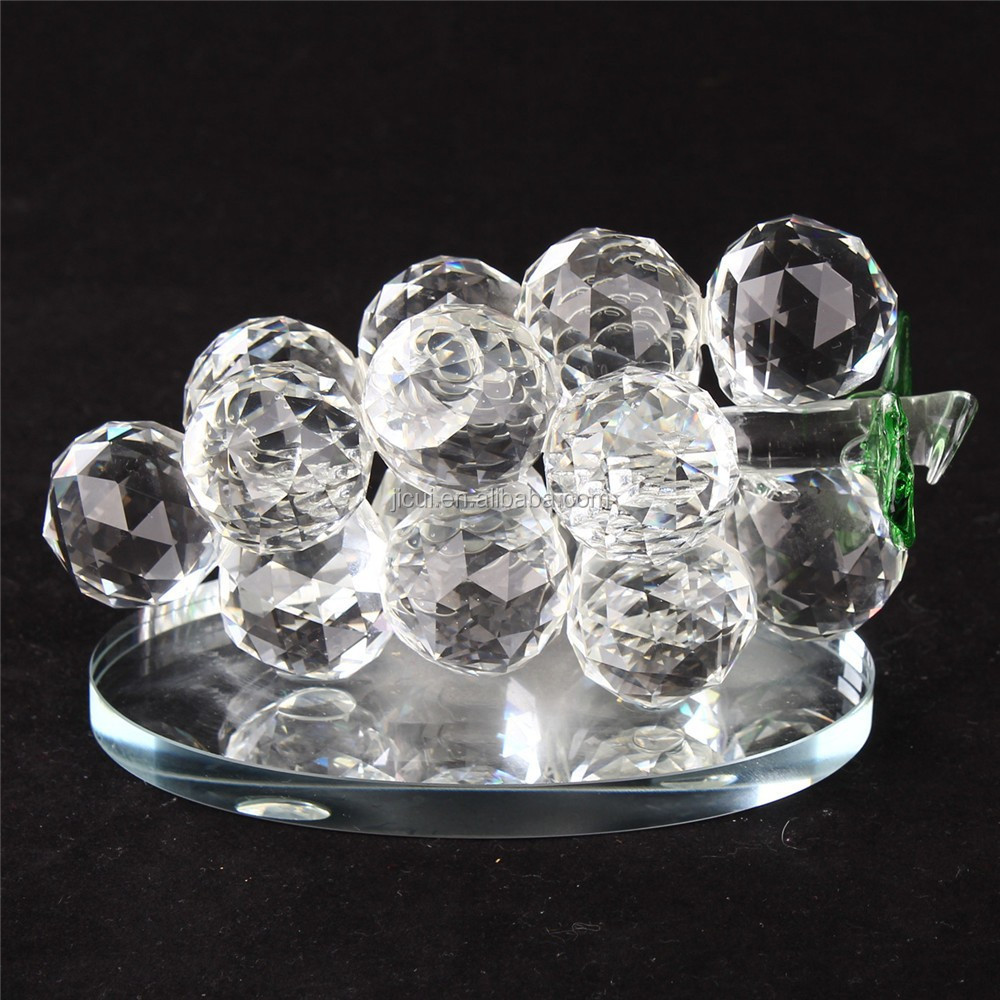 Decorative Glass Product : Decorative glass grapes crystal