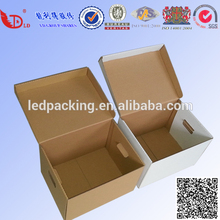 high quality strong corrugated bank file/document cardboard box