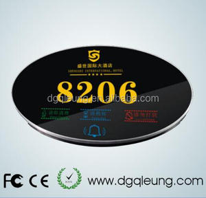 Electronic doorplate with touch screen for Hotel/Hospital/house