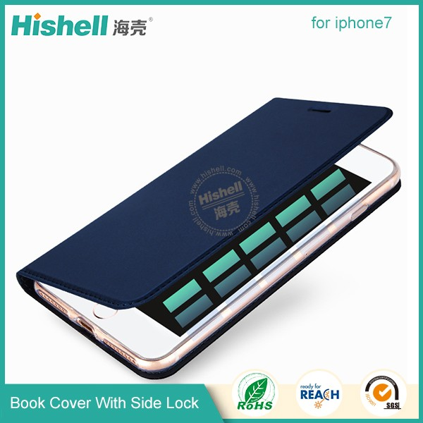 Cellphone Magetic Book Case for Iphone7