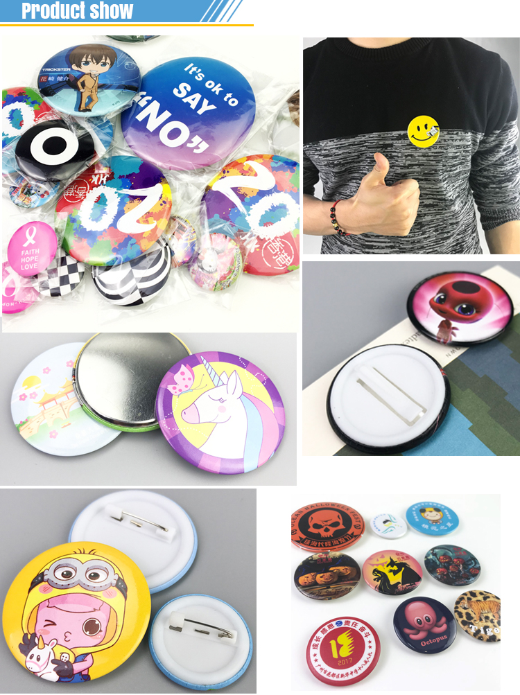 china supplier hot selling custom design logo metal badges and pins suppliers