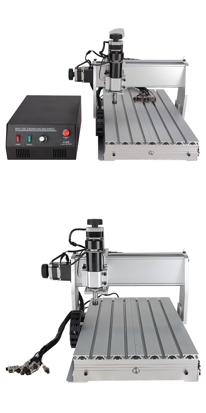 Hot Sale CNC 3040 Z-DQ mini 3D 4 Axis Carving Milling Engraving Wood CNC Router Machine