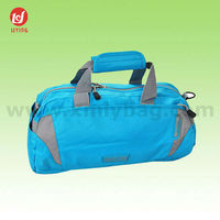 New Design Cheap Blue Nylon Duffel Travelling Sport Bag