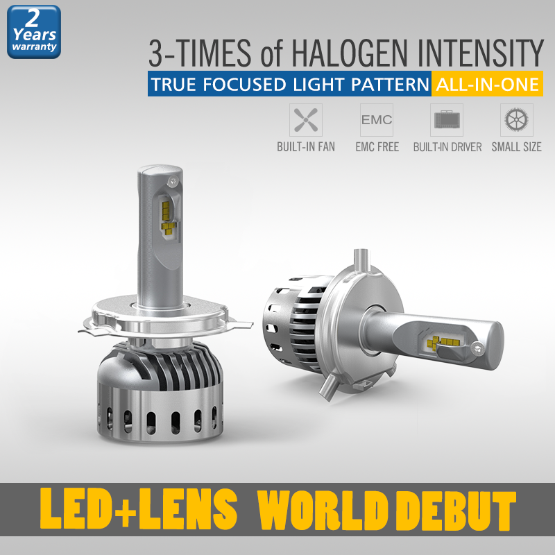 Good Sealed h4 headlamp bulb with strong high beam