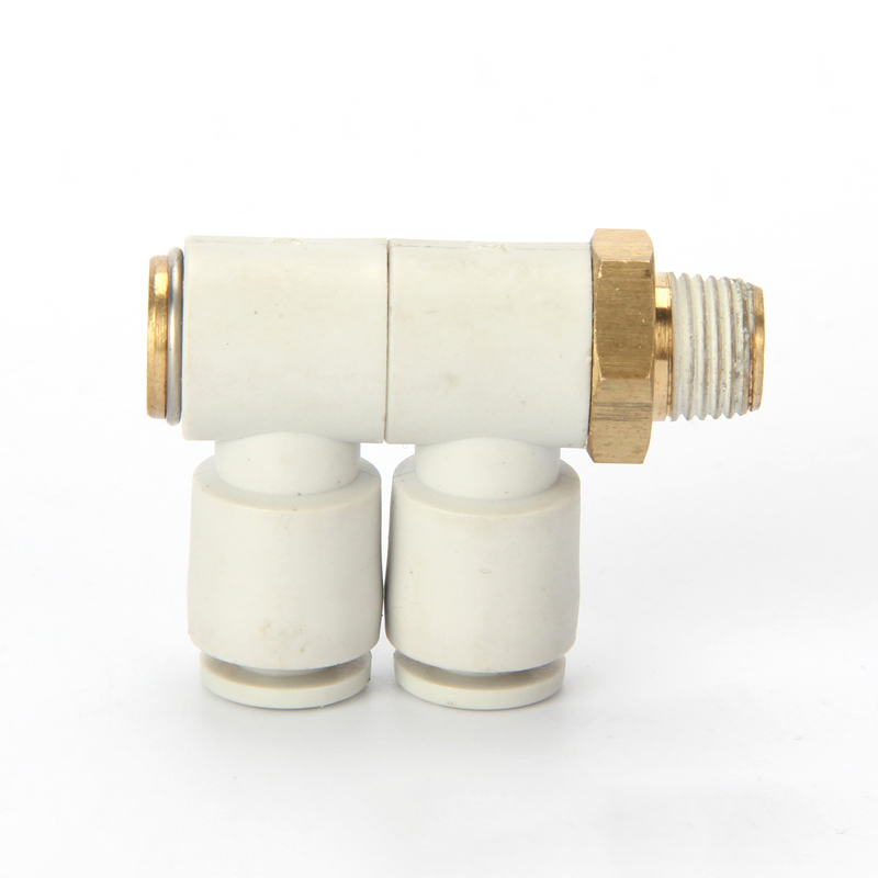 GOGO ATC SMC type High quality fittings KQ2VD04-M5 O.D 4mm thread M5 double universal male elbow one-touch pneumatic components