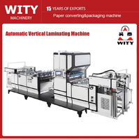 2016 Newest Multi function Automatic Vertical Bopp Laminating Machine