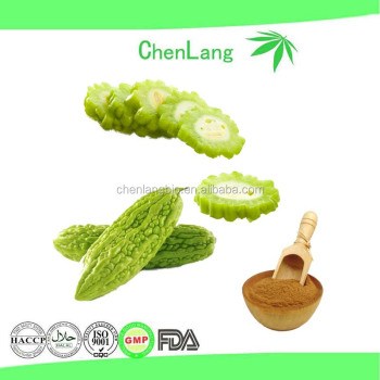 100% Quality Control Active Ingredient Charantin Bitter Melon Extract 10%