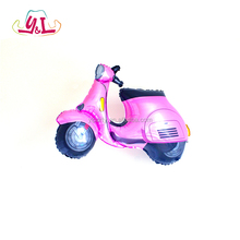 Carton Motorcycle Printed Baby Shower Helium Balloon for Girl Theme