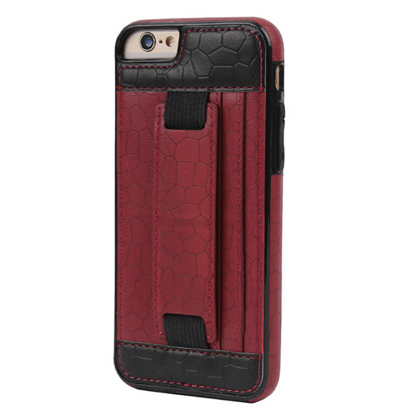 Belt Clip Holster Cover Impact Hybrid Soft leather Phone Case For iPhone 6 plus