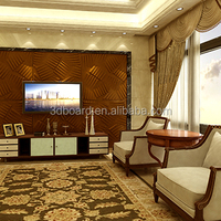 Factory Sale Home decor partition wall acrylic new design wall 3d panel