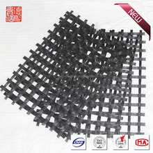 Warp knitted polyester/PET geogrid 40KN