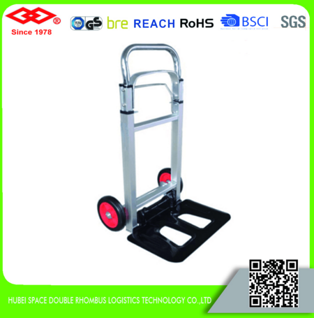 Folding cart aluminium foldable hand trolley
