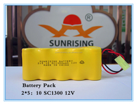 Ni-Cd SC 1300 Rechargeable Battery 12V Batteries battery pack