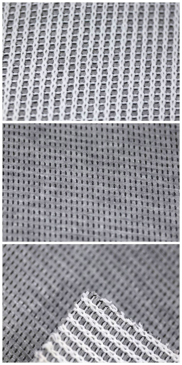 Best Selling Products Rayon Jacquard Mesh Fabric White Polyester Fabric