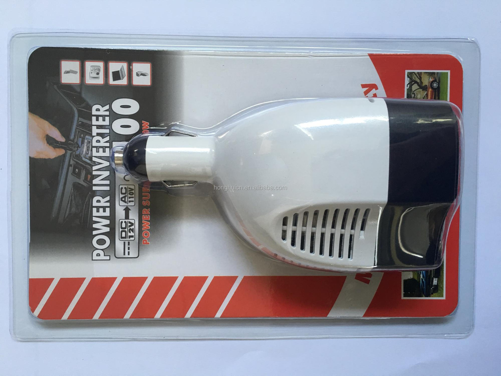 75w dc to ac car power inverter