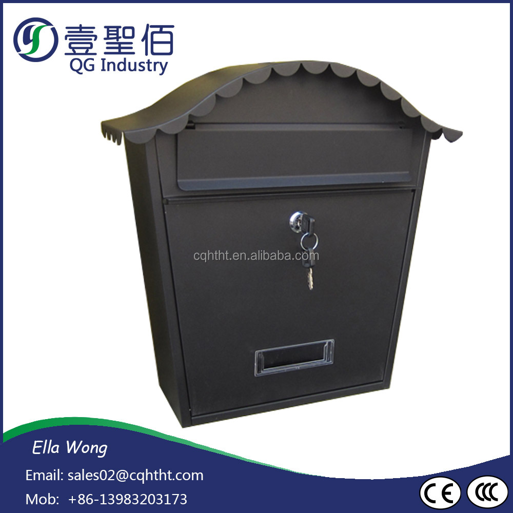 Manufacturing Cast aluminium garden mailbox with lower price