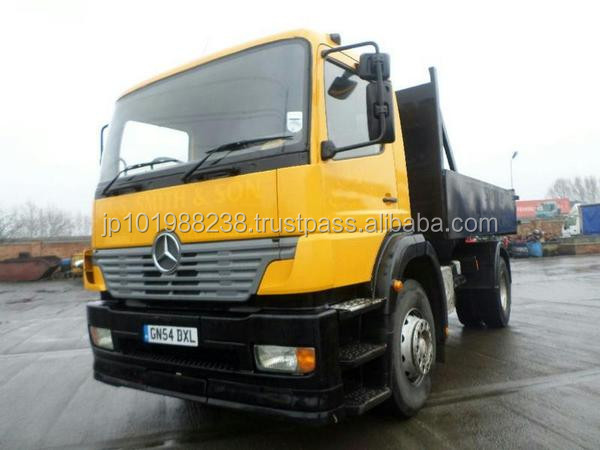 USED TRUCKS - MERCEDES-BENZ ATEGO 1823 (RHD 1801181 DIESEL)