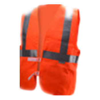 Safety vest for women High visibility vest 3M reflective tapebind Closure red hivis vest for railroad worker with pockets