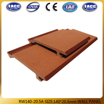 140*20.5mm wall panel, WPC wall cladding