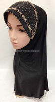 A202 Newest Design stylish Beaded muslim malaysia hijab
