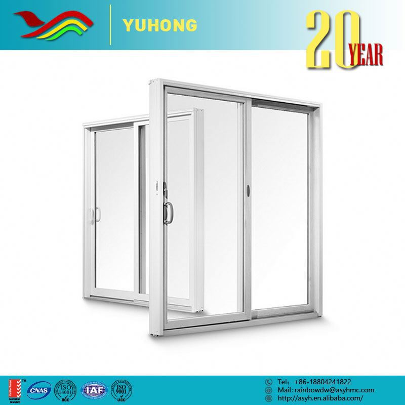 2016 hot low prices new design low e glass pvc sliding for Door new design 2016