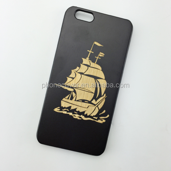 wholesale wood phone case sublimation blanks hign class cover for iphone 6