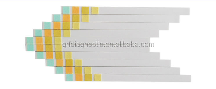 urinalysis reagent strips how to read