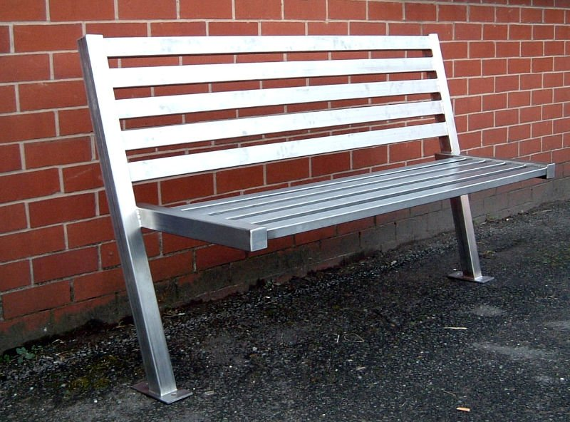 Ap 710 Garden Sofa Outdoor Stainless Steel Sofa Streets Public Bench Boss  Moulded Furniture Plastic Furniture