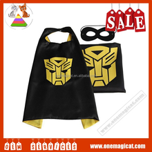 Black Transformer Capes -Double-deck Cape and Mask