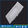 High Power Square 6w flat panel led panel ceiling light