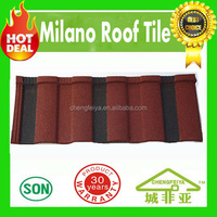 construction materials roof sheet price stone coated roof tile