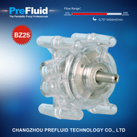 Prefluid BZ25 Dispensing Pump head, diy peristaltic pump