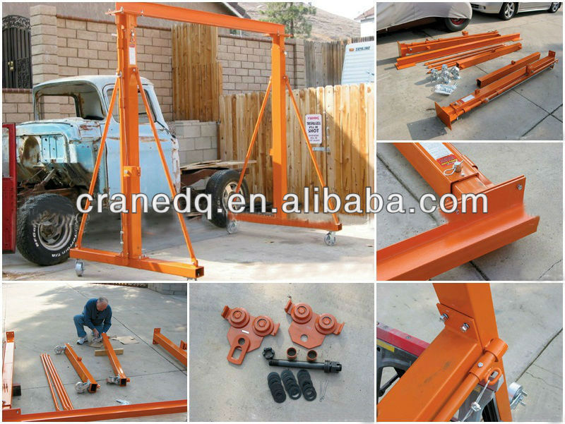 Mobile Gantry Crane Nz : Mobile single girder gantry crane ton view