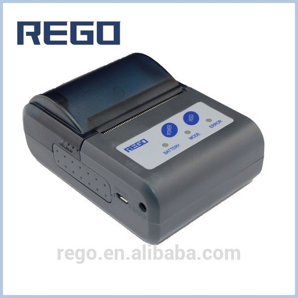 "2"" Mobile thermal printer can work with android smart phone and tablets"