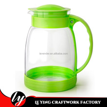 Eco-friendly 2.0L household water jug antique glass water teapot