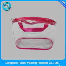 printed heat seal zipper closure stand up pouch with handle (Iso certificate)