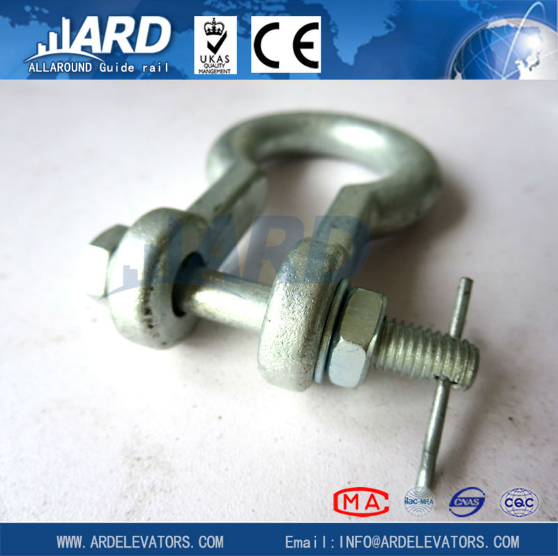 Standard Galvanized U-bolts with Nut/elevator parts/wire rope wedge sockets