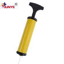 High pressure manual pop promotion hand air pump for gym ball