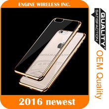 2016 Luxury case Wholesale mobile phone shell silicon case for coolpad