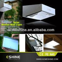 2014 new business ideas day night light sensor and motion sensor led garage solar lights