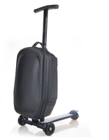 PC/EVA luggage 12ah electric scooter with 3 wheels