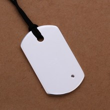 Hot sale personalized fashion qr id dog tag with silicone
