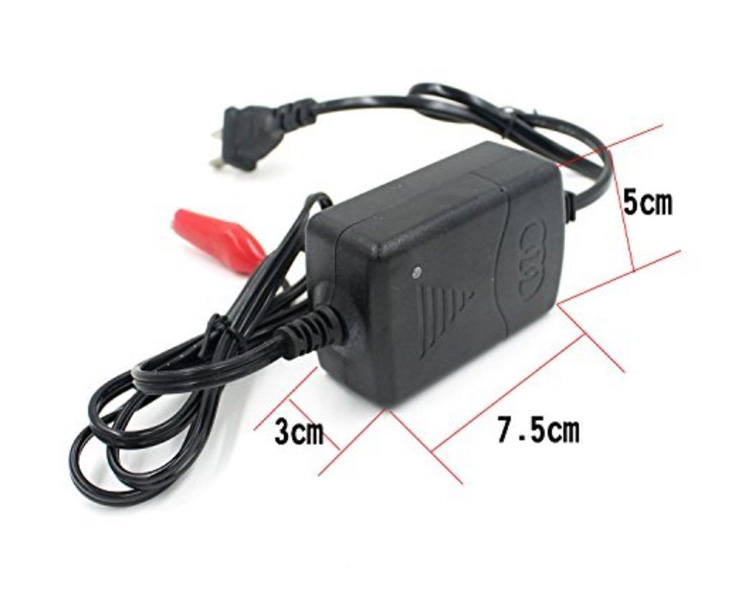12 Volt Car Battery Charger 12V Motor Smart Fast Power Charge Adapter Moto Lead Acid Storage Cell Auto Batterie Charging 12 V