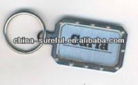 Factory wholesale custom metal key chain, floating key chain keychain